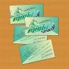 Разработка визитки (включая фон) для интернет-магазина.