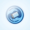 Логотип и иконка для КПК программы по поиску украденного/потерянного кпк или телефона по gps, она же система АнтиВор Mobile.