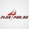 Вариант логотипа для сайта об онлайн-играх и кибер спорте.