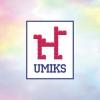Конкурсная работа, продается. Логотип для детского конструктора. Umiks - твой верный друг!