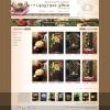 Интернет-магазин цветов: страница выбора товара.